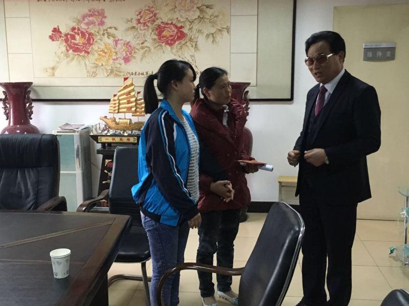 王玉印先生爱心救治先天性心脏病儿童李平楠同学的追踪报道